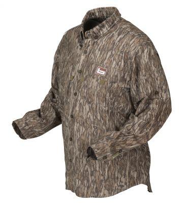 Banded Lightweight Vented Shirt