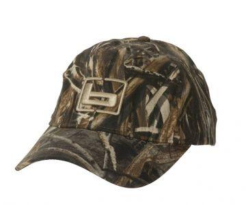 Camo Hunting Cap W/Logo